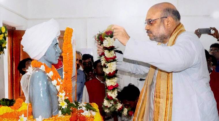 amit shah, amit shah in jharkhand, scheme for freedom fighters village, Birsa Munda, Ulihatu,Khunti district development, bjp