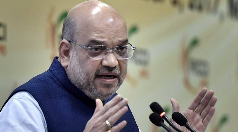 Amit Shah, Congress, Amit Shah on Congress, Congress yatras, BJP, Congress, Amit Shah tours, India news, Indian Express