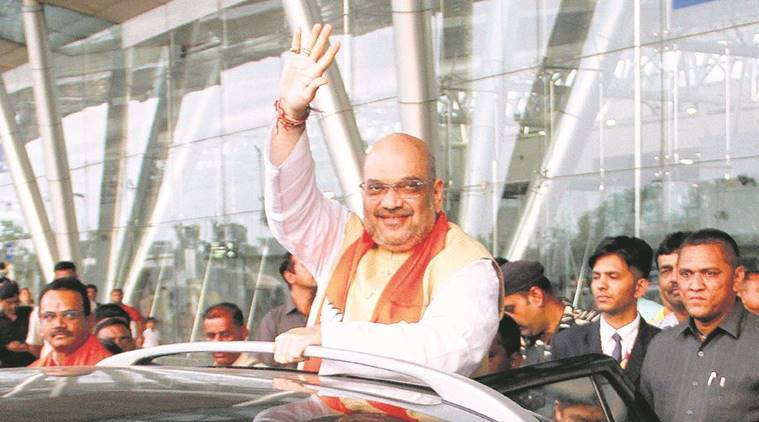 Amit Shah, Amit Shah in Gujarat, Gujarat election, Youth to ask Amit Shah questions, Jity Vaghani, India news, Indian Express