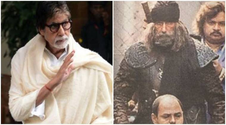 Amitabh Bachchan's Fearsome Look For Thugs Of Hindostan Leaked