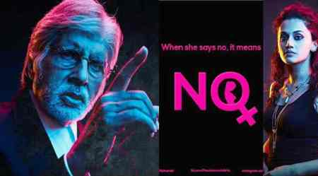 1 year of Pink: Amitabh Bachchan and Taapsee Pannu remind people 'No meansNo'