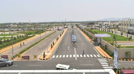 Amaravati, a city fast shaping up with dedicated regions