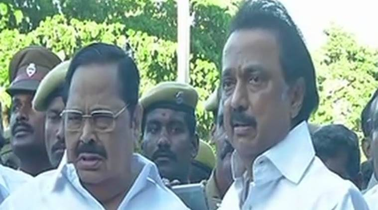TN opposition parties meet Governor, seek floor test — AIADMK crisis