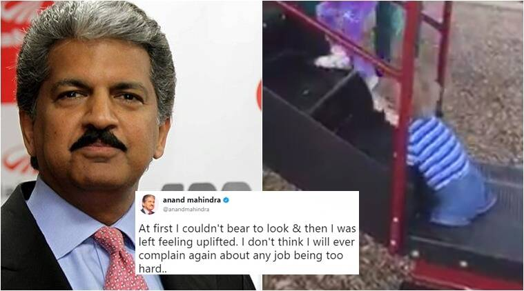 anand mahindra, anand mahindra tweets, anand mahindra latest tweets, anand mahindra latest tweet viral, good news anand mahindra, anand mahindra news, mahindra group ceo anand mahindra, indian express, indian express news