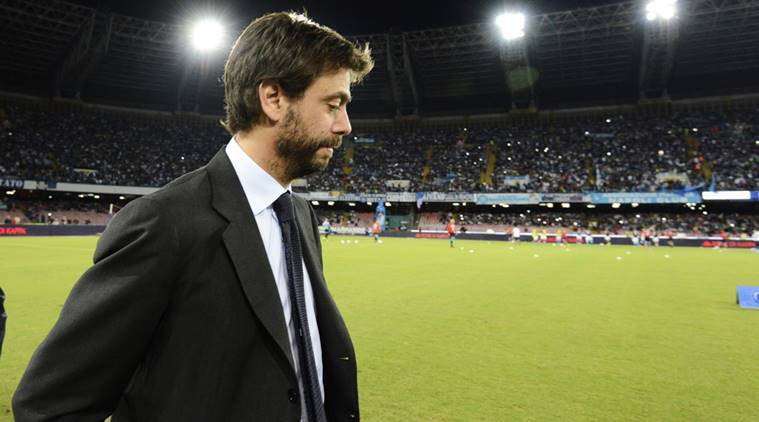 Andrea Agnelli, Juventus, Juventus news, sports news, football, Indian Express