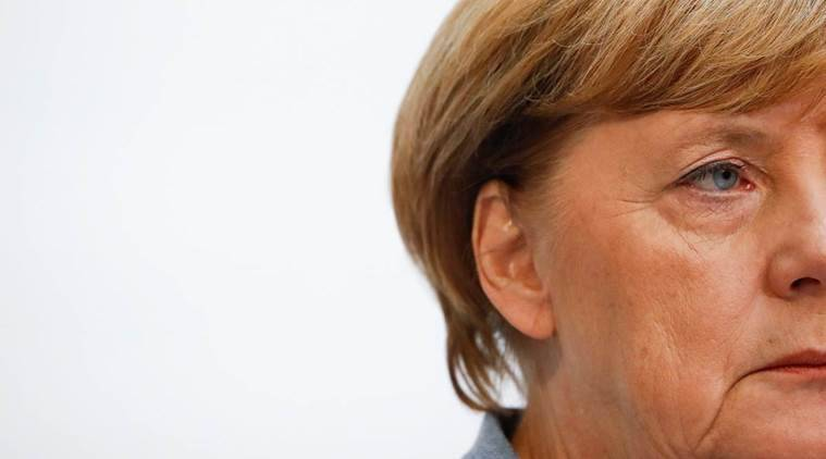 angela merkel, germany elections 2017, rise of right in germany, cdu, christian democratic union, angela merkel political party, german chancellor, indian express