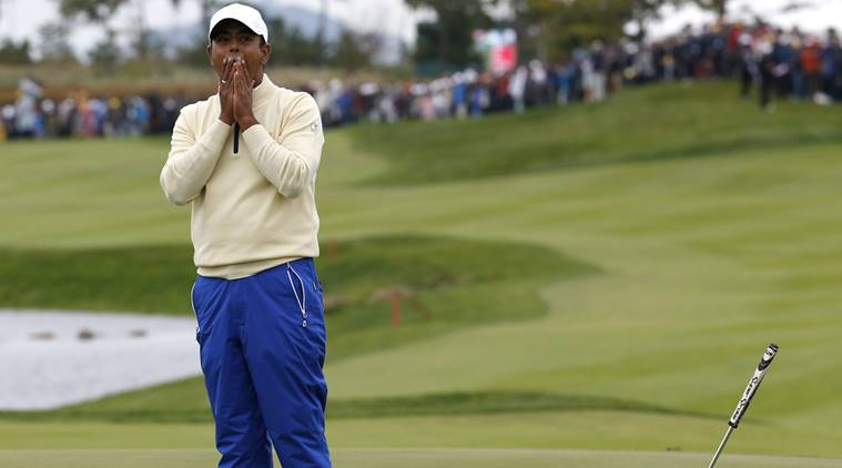 Anirban Lahiri, Presidents Cup, Presidents Cup news, sports news, Golf, Indian Express