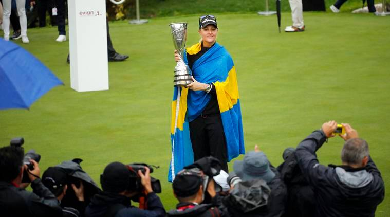 Anna Nordqvist Brittany Altomare Moriya Jutanugarn U.S. Women's Open golf sports news indian express