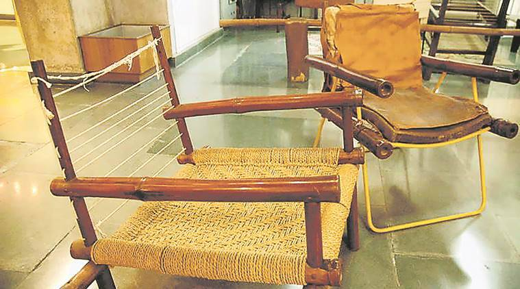 Furniture Designed By Corbusier At City Museum, Chandigarh. (File Photo)