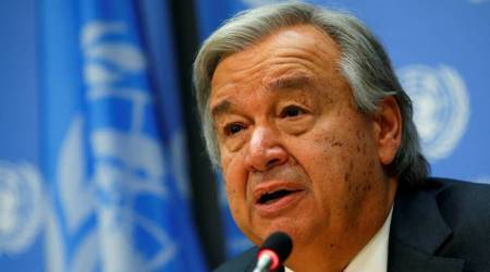 Syria 'bleeding inside and out' as conflict enters eighth year: UN chief