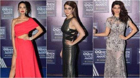 Anushka Sharma, Jacqueline Fernandez, Esha Gupta and more: Who wore what at GQ Men of the Year Awards
