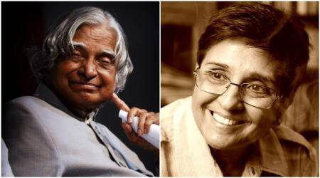 Kiran Bedi shares a photo of late APJ Abdul Kalam's 'worn-out' chappals to shed light on hissimplicity