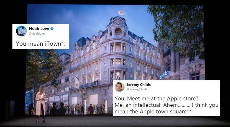 apple event 2017, apple town square, apple store, apple event twitter