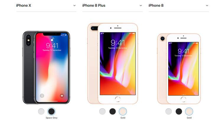 Image result for iphone 8, iPhone 8 plus, iphone x