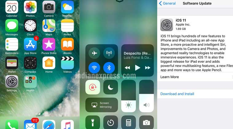 Apple iOS 11 top features, release time for India, how to