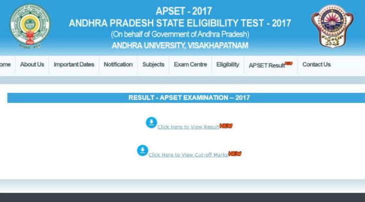 apset, apset 2017 results, apset results 2017