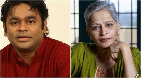 Gauri Lankesh murder, A R Rahman, A R Rahman politics, A R Rahman Gauri Lankesh murder, journalist murder, India news, Indian Express