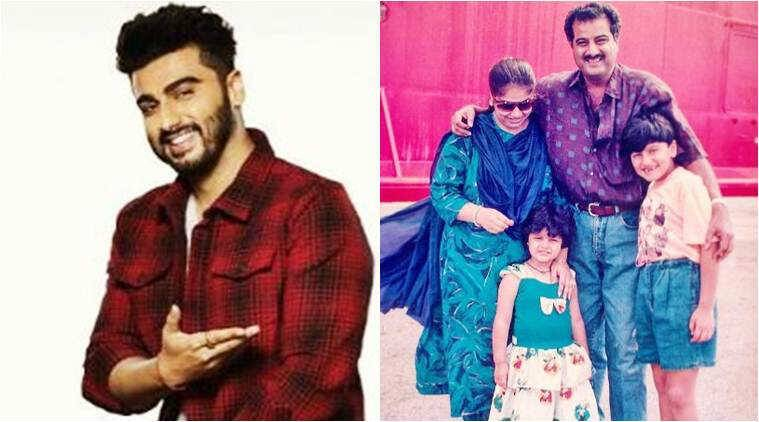 arjun kapoor, arjun kapoor throwback photo, arjun kapoor family photo, arjun kapoor sister, arjun kapoor instagram,