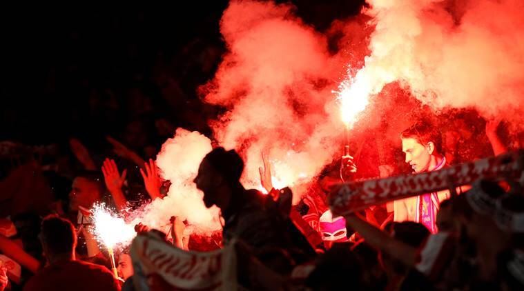 Hajduk Split ordered to pay £35348 after crowd trouble at Everton