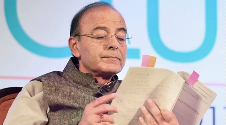 Finance Minister Arun Jaitley, Union Finance Minister Arun Jaitley, Arun Jaitley, Aadhaar Law, UPA Government, Aadhaar, India News, Indian Express, Indian Express News