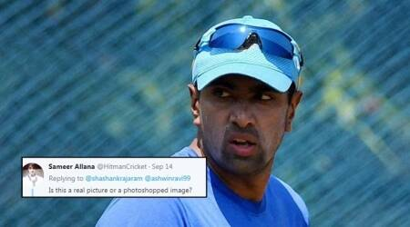 R Ashwin commits social media gaffe, and gets trolled