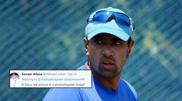 ashwin, ravichandran ashwin trolled, ashwin trolled for phone tweet, fans troll ashwin, indian express, indian express news
