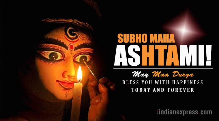 Happy Durga Ashtami 2017 Facebook And Whatsapp Messages Status Hd Wallpapers Images And Greetings Wishes For Your Loved Ones Lifestyle News The Indian Express