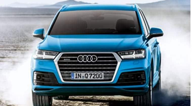 Audi, Audi Q7, German car manufacturer Audi, German Car Audi, Audi Petrol Version Q7, Business News, Latest Business News, Indian Express, Indian Express News