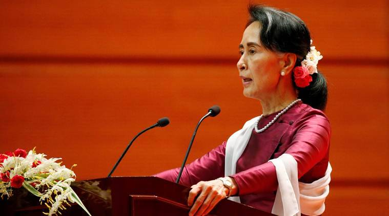 aung san suu kyi says myanmar ready to begin verification process for rohingya refugees who wish. Black Bedroom Furniture Sets. Home Design Ideas