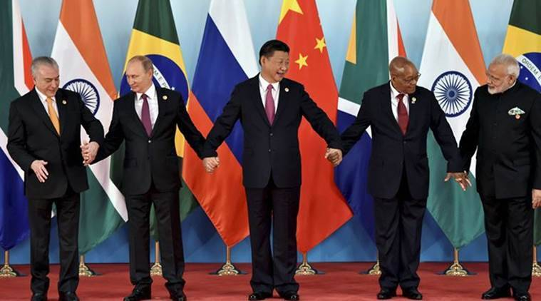 China, BRICS economic initiative, BRICS, BRICS Countries, Chinese President Xi Jinping, India PM Narendra Modi, India News, Indian Express, Indian Express News