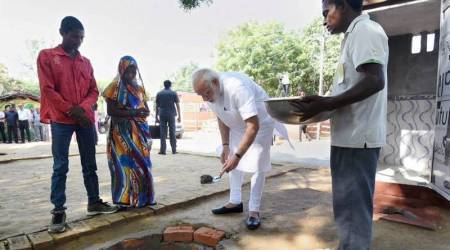 Village Shahanshahpur, that gave 'shelter' to Humayun, plays host to PM Narendra Modi