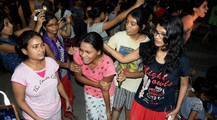 bhu, bhu lathicharge, Banaras Hindu University, varanasi, BHU, BHU protest, BHU lathicharge, Benaras Hindu University