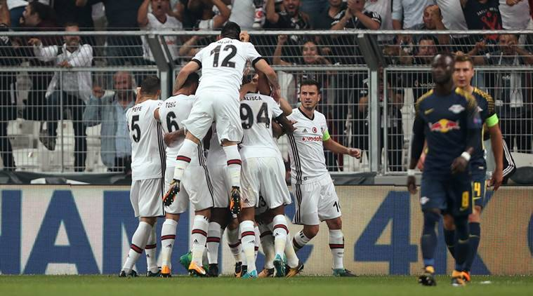 Besiktas beat RB Leipzig 2-0 to earn second victory