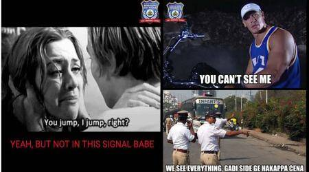 These tweets by Bengaluru Police with Titanic and John Cena are hilarious!
