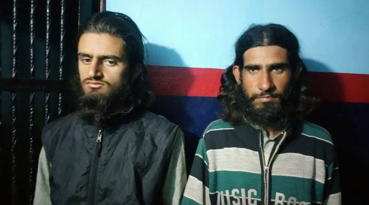Two terrorists responsible for attack on SSB men arrested by J&K Police