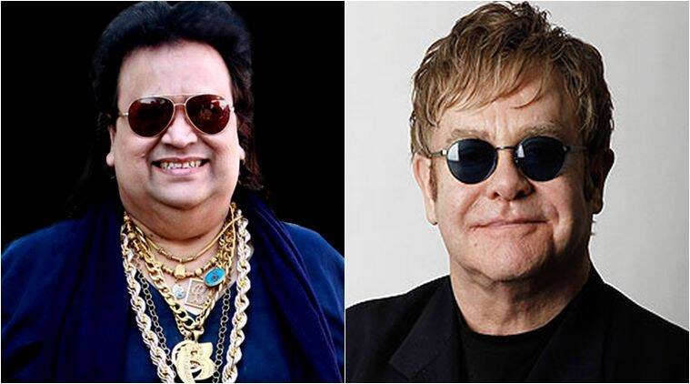 bappi lahiri elton john, kingsman the golden circle bappi lahiri, kingsman the golden circle