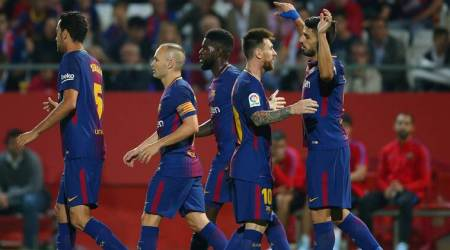 Barcelona increase lead at top with 3-0 win over Girona