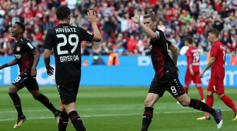Bayer Leverkusen, SC Freiburg, Bundesliga, Heiko Herrlich
