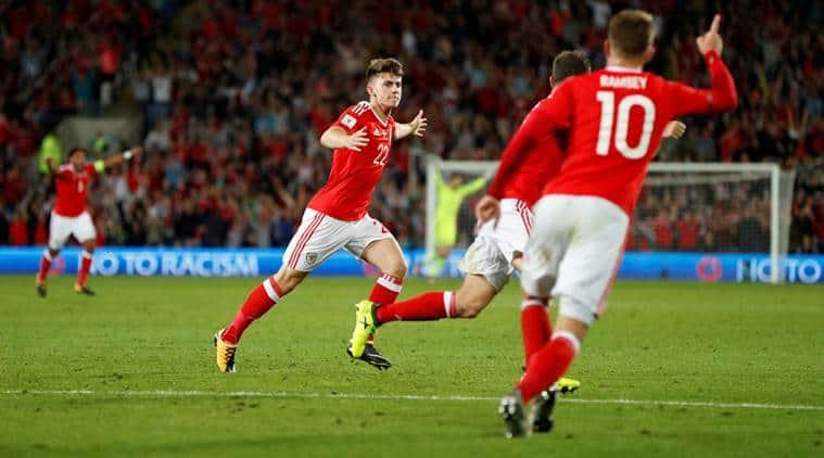 Ben Woodburn, Ben Woodburn Wales, Austria, World Cup qualifiers, sports news, football, Indian Express