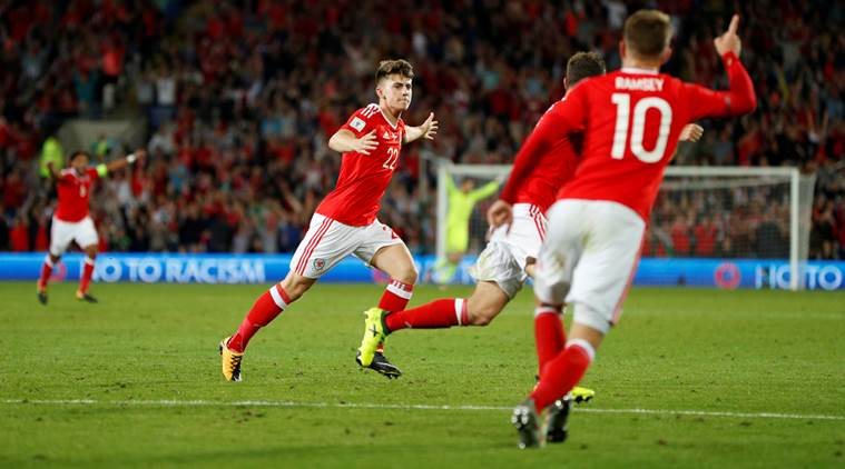 Ben Woodburn, Ben Woodburn Wales, Austria, World Cup qualifiers, sports news, football, Indian Express