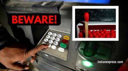 Here's how a 27-year-old duped people at ATMs using amatchstick