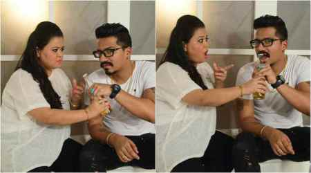 Bharti Singh and Haarsh Limbachiyaa begin countdown to their wedding with a cute and funny photoshoot
