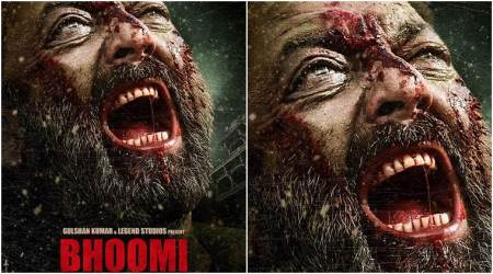 Sanjay Dutt's angst is the highlight of this Bhoomiposter