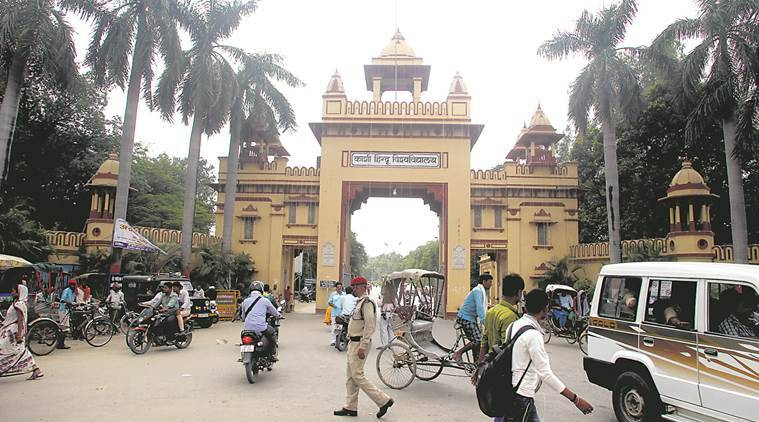bhu, bhu students protest, bhu vc, Banaras Hindu University, bhu women safety, bhu sexual harassment, Sir Sunderlal Hospital, bhu vc G C Tripathi, o p upadhyay, BHU news, Latest news, indian express