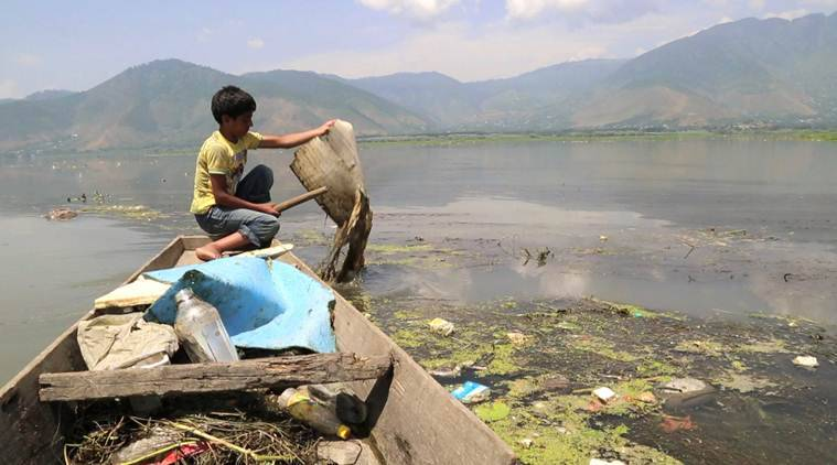 J&K ragpicker hailed by PM Modi for work on Wular lake