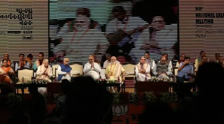 BJP national executive meeting begins in Delhi; economic issues likely to take centrestage