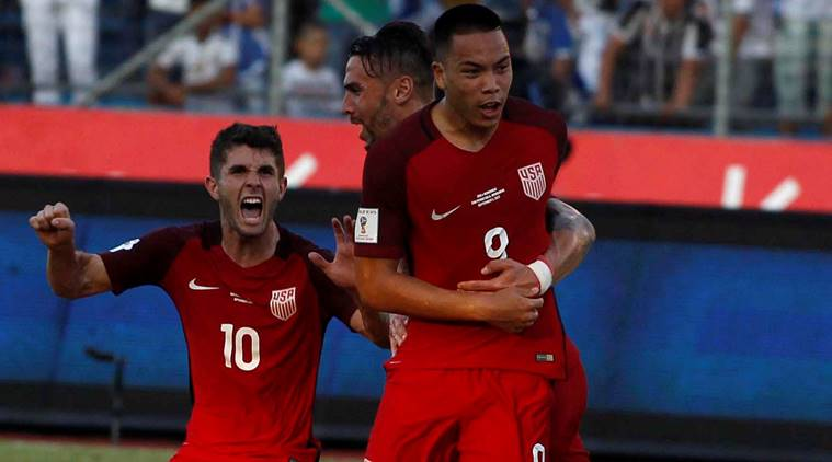 United States vs Honduras, Bobby Wood, Romell Quioto, FIFA, 2018 FIFA World Cup Qualifiers