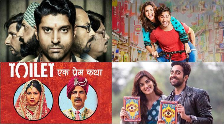 Bollywood UP flavour, lucknow central, bareilly ki barfi, Shubh Mangal Saavdhan, toilet ek prem katha, UP characters bollywood,