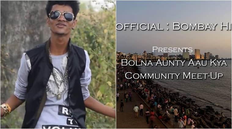 bolna aunty aun kya, bolna aunty aau kya facebook events, bolna aunty aun kya facebook, bolna aunty aun kya mumbai delhi, indian express, indian express news
