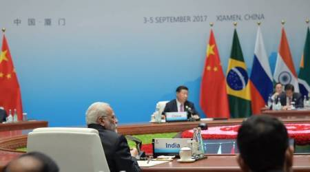 BRICS Summit 2017: PM Modi flags GST, open economy of changing India